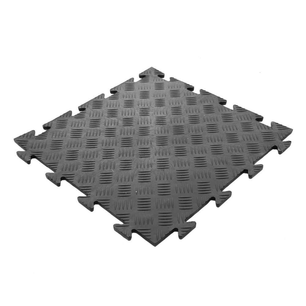 PVC Diamond Durbar black tile GFD UK