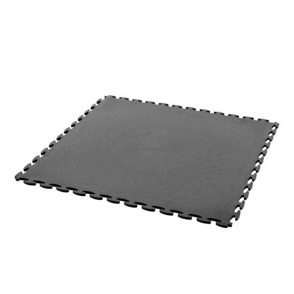 Duraflex black interlocking tile for garage floors
