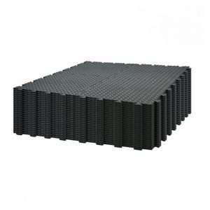 Black interlocking garage floor tile bundle for diamond checker surface from garage floors direct uk 96 tiles