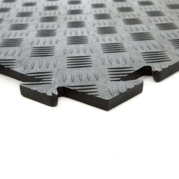 Diamond Durbar five bars plate flooring for garages and warehouses GFD UK