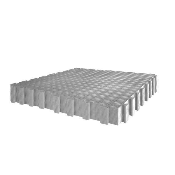 Grey Garage flooring diamond industrial workshop and warehouse durbar pack 60 tiles interlocking floor covering