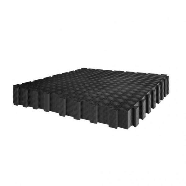garage-flooring-pack-60-diamond-durbar-five-bars-black-industial floor tiles