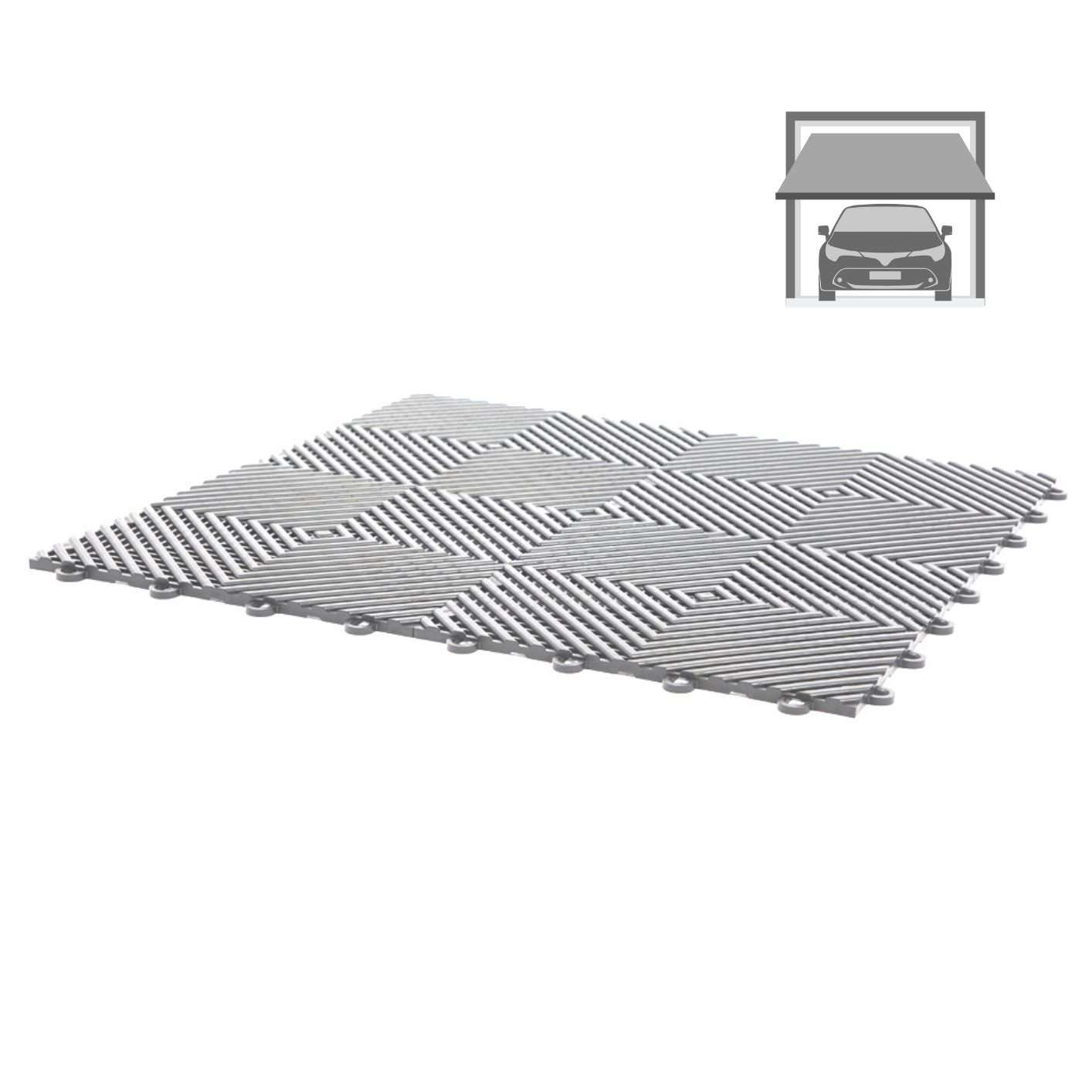 1 Metre Square = 4 X 50CM X 50CM X 12mm Thick MATS MAT Safety Rubber Tiles