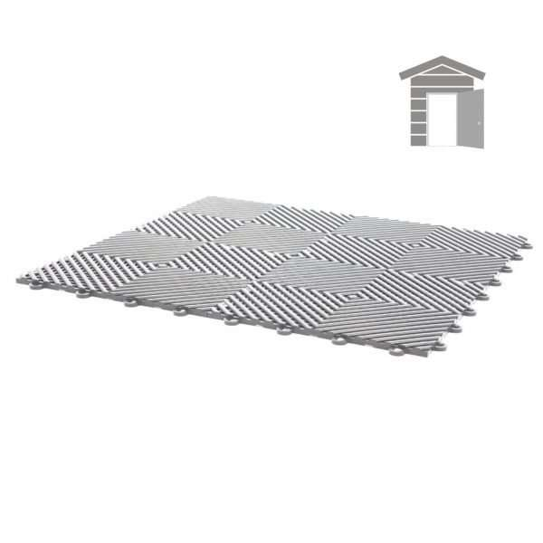 vented ribbed tiles for small shed flooring pack for wet areas PP plastic waterproof garage floors direct uk open