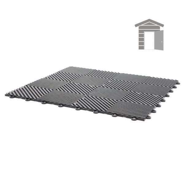 vented ribbed tiles for small shed garage flooring pack for wet areas PP plastic waterproof garage floors direct uk open