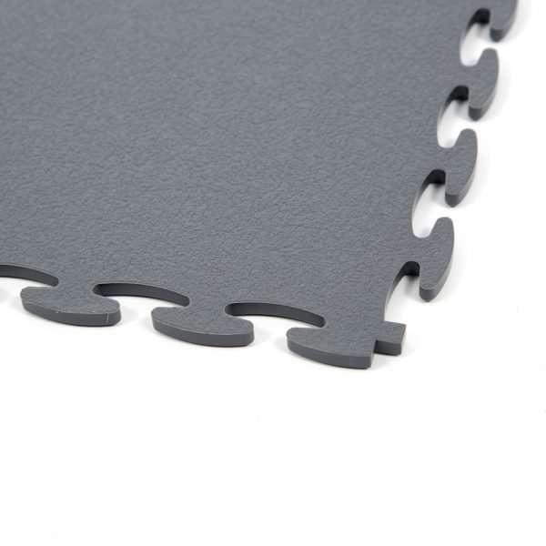 Graphite DuraFlex Garage flooring tile closeup