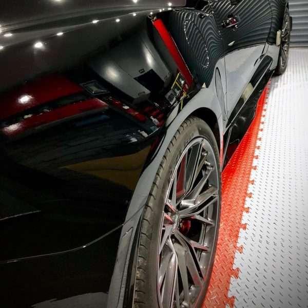 garage floor tiles uk diamond checker red and grey floor modular pvc tiles