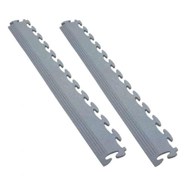 duraflex dark grey ramp set 50 cm pvc garage flooring accessories