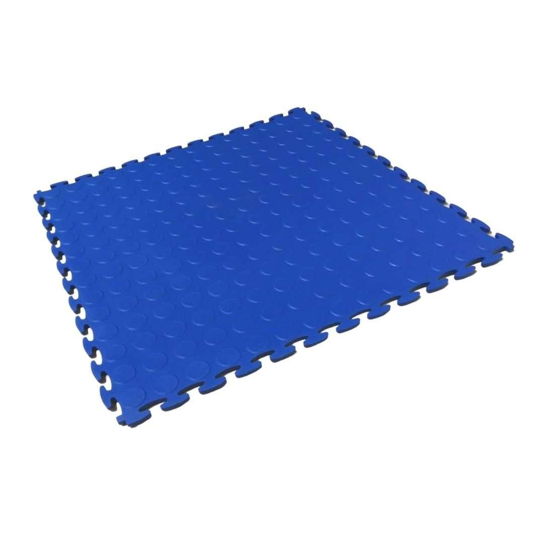 Blue DuraFlex Plus interlocking flooring garage floor tiles