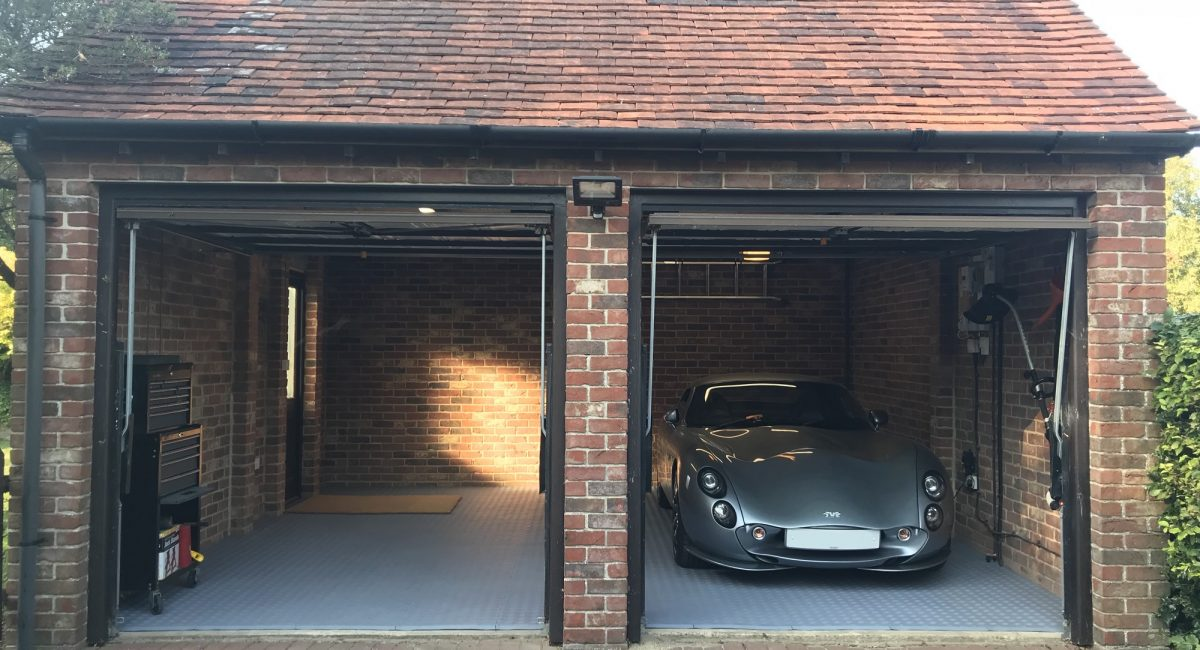 Garage inspiration with Diamond Durbar flooring